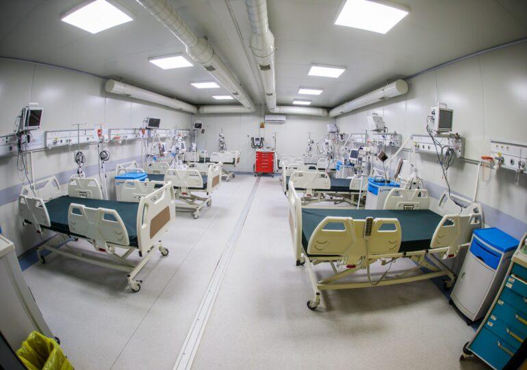 Spitalul mobil de la Leţcani a fost deschis. Au fost internați deja primii pacienți