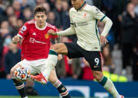 Liverpool a umilit-o pe Manchester United pe Old Trafford cu un scor neverosimil