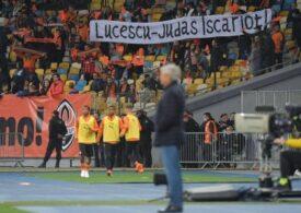 Fanii lui Șahtior nu-l iartă pe Lucescu: Mesajul afișat la ultimul meci