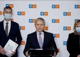 Dacian Cioloş nu exclude ipoteza unui guvern minoritar al USR