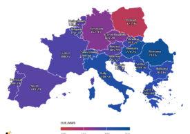România are cel mai ridicat preț la energie din Europa