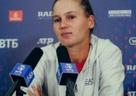 Veronika Kudermetova, impresionată de Simona Halep
