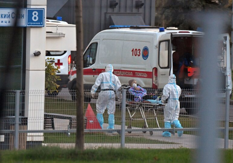 Rusia are un nou record zilnic de morți de Covid. Comparativ, România stă mai rău