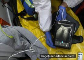 Un medic de la SMURD ne arată complicațiile Covid la un pacient sănătos, de circa 30 de ani (VIDEO)