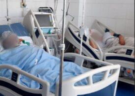 La Spitalul Județean Pitești, un tânăr a murit din cauza COVID chiar în ziua în care soția lui a născut