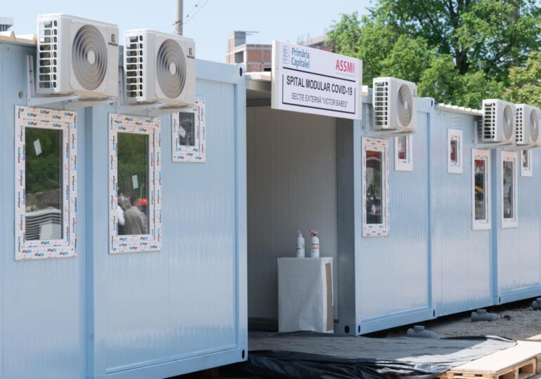 Primăria Capitalei dă 22 de milioane de lei pentru Spitalul Modular construit de Firea. Nicușor Dan spune că încă sunt paturi libere și la celelalte spitale