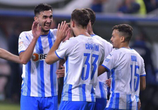 Liga 1   Universitatea Craiova ajunge la patru victorii consecutive